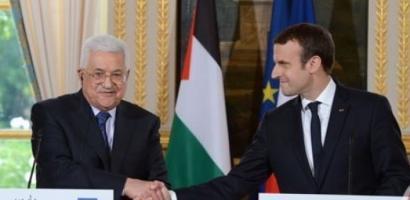عباس يلتقي ماكرون الخميس القادم في باريس