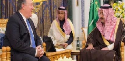 """العاهل السعودي يلتقي مدير الـ """"سي آي إيه"""""""