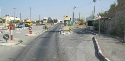 """الاحتلال يعتقل شابا من الخليل على حاجز """"الكونتينر"""""""