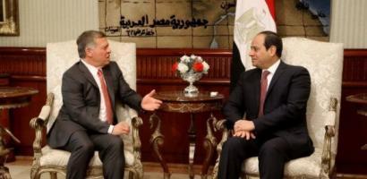 """مصر والأردن: إقامة دولة فلسطينية """"من الثوابت القومية"""""""