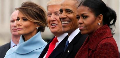 في أول حديث لها بعد الوداع.. ميشيل أوباما تكشف سر دموعها يوم التنصيب