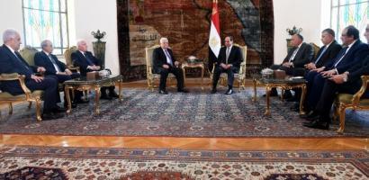 الرئيس ينهي زيارته الى مصر