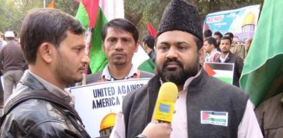 زعيم المسلمين في الهند يطالب بمحاكمة ترمب في المحاكم الدولية