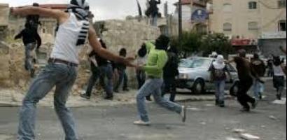 إصابتان بالرصاص المعدني في مواجهات مع الاحتلال في قلقيلية