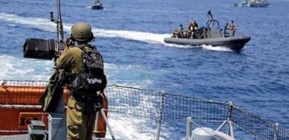 بحرية الاحتلال تعتقل صياديْن من بحر غزة