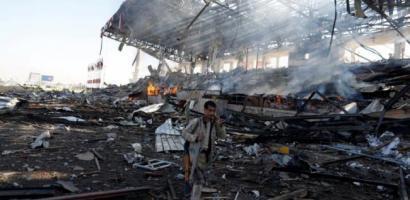 قصف جوي وبحري على قطاع غزة يوقع خسائر مادية كبيرة
