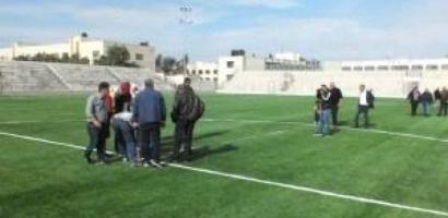 الانتهاء من مشروع تعشيب معلب الشهيد أبو عمار في جنين