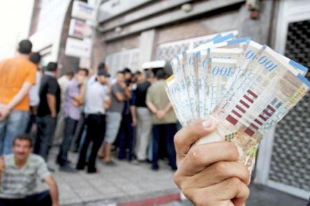 رواتب موظفي غزة الأسبوع الجاري
