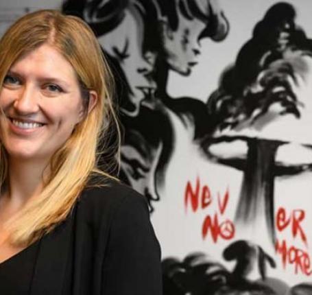 بياتريس فيهن الحائزة على نوبل للسلام تطالب بإزالة الأسلحة النووية الإسرائيلية