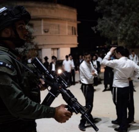 600 مستوطن اقتحموا قرية كفل حارس بحماية جيش الاحتلال