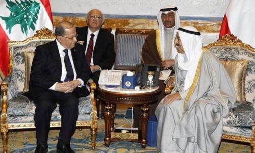 الرئيس اللبناني وامير الكويت يجددان ادانتهما لقرار ترامب بشان القدس