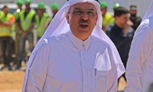 السفير العمادي يصل غزة