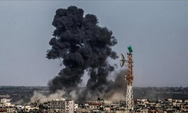 جيش الاحتلال يقصف غزة والكابينت يجتمع