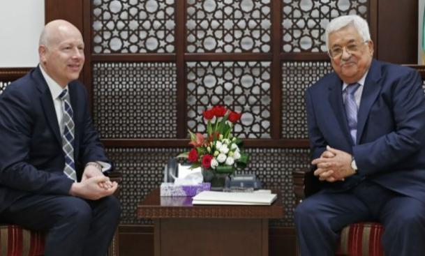 المبعوث الأمريكي للسلام يصل المنطقة اليوم ويلتقي الرئيس عباس ونتنياهو