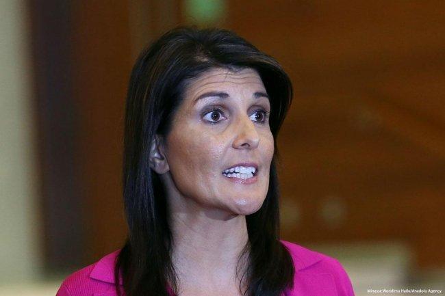 ملامح نيكي هايلي في اجتماع الأمم المتحدة من أكثر اللحظات إحراجاً لها ولدولتها