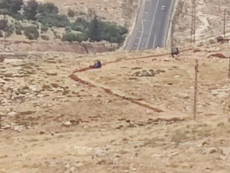 بيت لحم: الاحتلال يجرف اراضي تقوع ومستوطنون يعتدون على المواطنين في كيسان