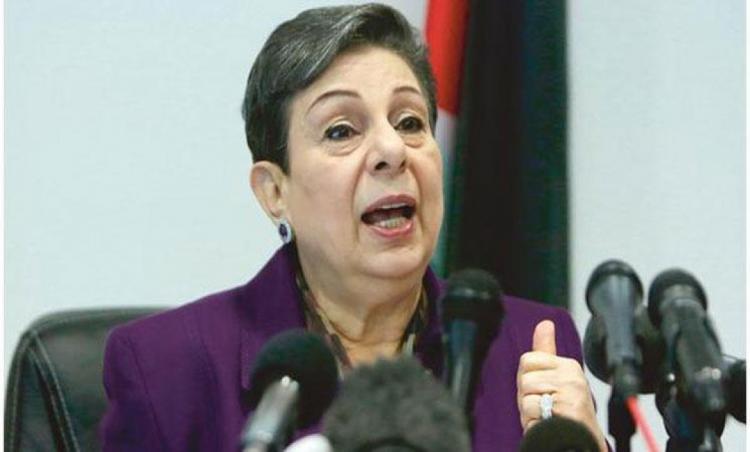 عشراوي تدعو اليونان إلى الاعتراف بدولة فلسطين