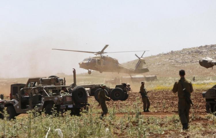 جيش الاحتلال يجري مناورة تحاكي تصعيداً على قطاع غزة