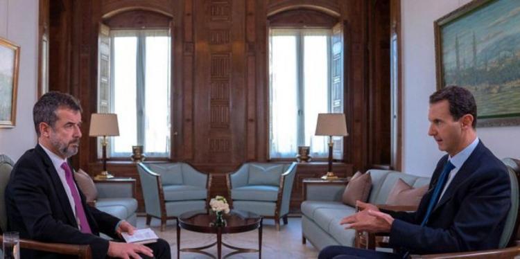 الأسد: الحرب ضد الإرهاب لم تنته بعد.. والوجود الفرنسي في سوريا احتلال ولا يوجد اي تعاون مع امريكا