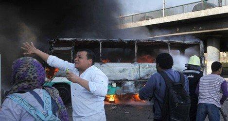 اشتباكات بين انصار مرسي ومعارضين في القاهرة