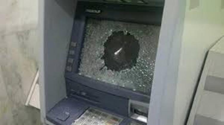 مجهولون يسرقون صراف آلي جنوب نابلس