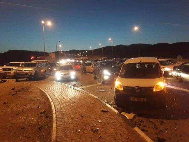 إصابة 6 مواطنين إثر حادث سير قرب اريحا