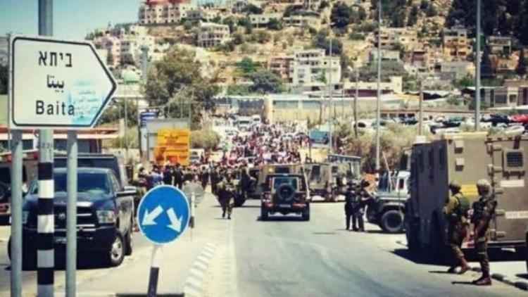 محدث.. شهيد و 110 إصابات إثر مواجهات مع جيش الاحتلال في بلدة بيتا