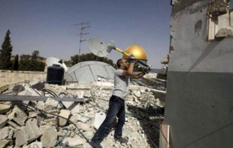 """""""بطلعش"""".. حملة إلكترونية عالمية للتضامن مع أصحاب البيوت المهدمة في القدس المحتلة"""
