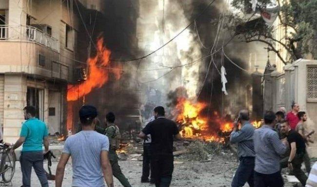 سوريا | جرحى بانفجار قرب كنيسة السيدة العذراء وسط القامشلي