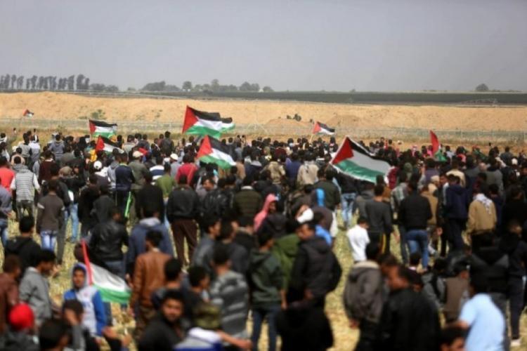"""الجمعة القادمة من مسيرات العودة بعنوان """"القدس عاصمتنا"""""""