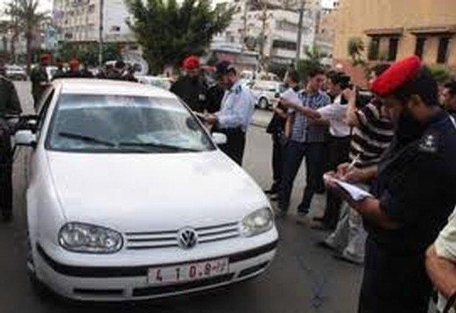 2500 مركبة حكومية في غزة