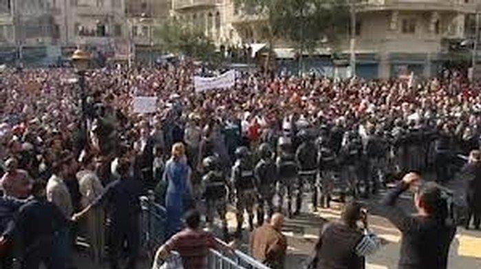 الاردن: تظاهرات تطالب بالاصلاح