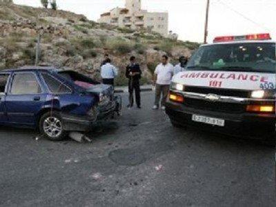 بتر ساق مواطن بحادث سير مروع في الخليل