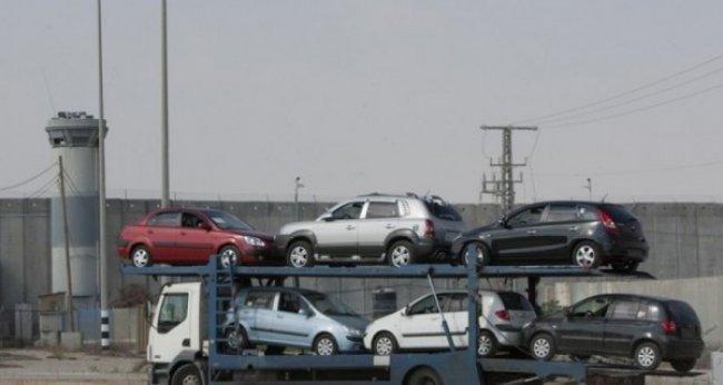 الفلسطينيون استوردوا سيارات الشهر الماضي بقيمة 116 مليون دولار