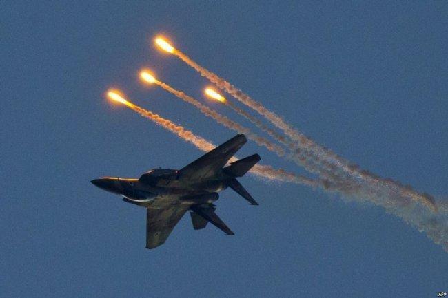 تحليق مكثف لطيران الاحتلال الحربي في أجواء قطاع غزة