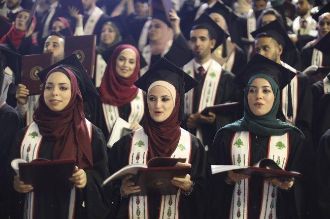 جامعة بيرزيت تحتفل بتخريج الفوج الثالث والأربعين من طلبتها