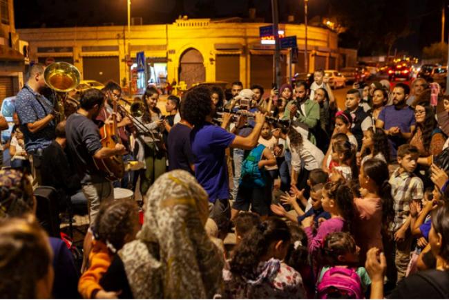 على أرصفة وشوارع ومسارح وحدائق القدس.. يختتم معهد ادوارد سعيد الوطني للموسيقى فعالياته الموسيقية