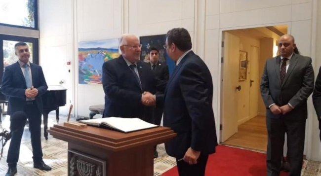 """سفيرا مصر والأردن يقدمان أوراق اعتمادهما لدى """"اسرائيل"""""""