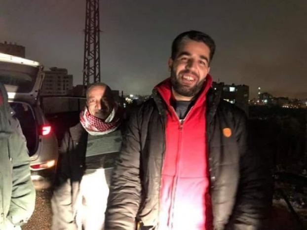 قوات الاحتلال تفرج عن الصحفي حسين شجاعية