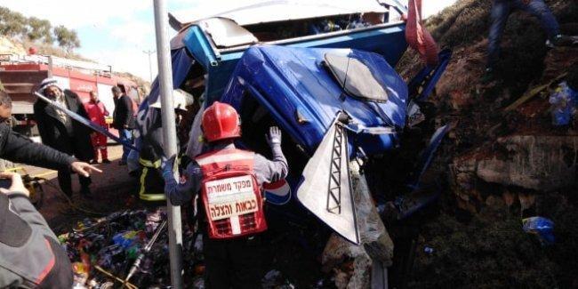 وفاة شاب من كوبر في حادث سير مروع على طريق نابلس-اريحا قرب بلدة عقربا