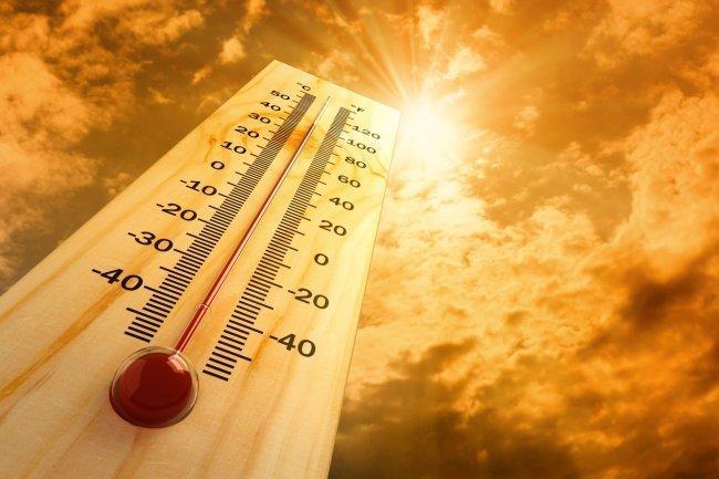 أجواء شديدة الحرارة جافة ومغبرة