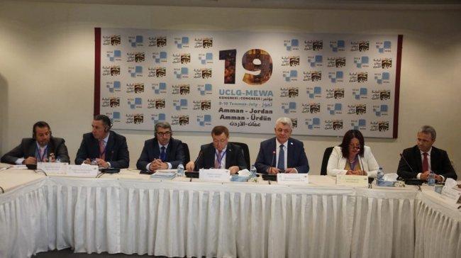 موسى حديد رئيسًا مشاركًا لمنظمة المدن المتحدة والإدارات المحلية فرع الشرق الأوسط وغرب آسيا