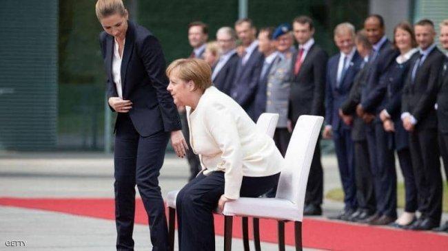 بعد تكرر نوبات الارتجاف.. ميركل تستقبل رئيسة الوزراء الدنماركية جالسة