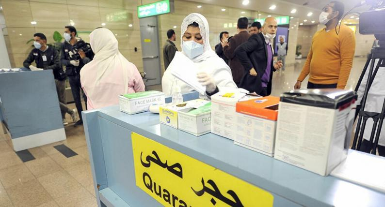 مصر: 40 حالة وفاة و1348 إصابة جديدة بفيروس كورونا