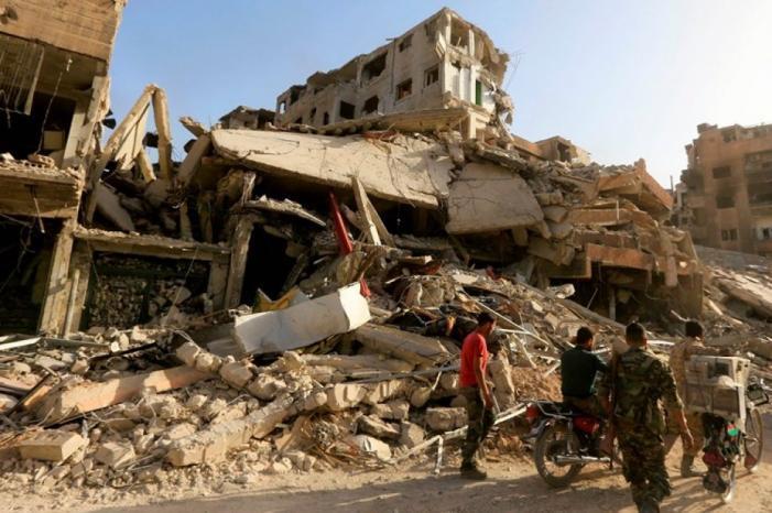 سوريا تقرر إعادة المهجرين الفلسطينيين إلى مخيم اليرموك