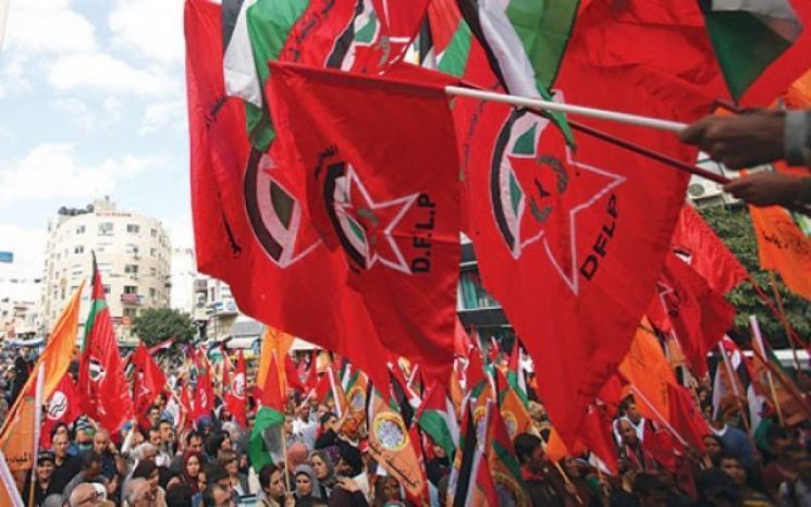 """الديمقراطية: أنظمة عربية تمنح الاحتلال شهادة في """"السلام"""" بينما تواصل عدوانها على الشعبين الفلسطيني والسوري"""