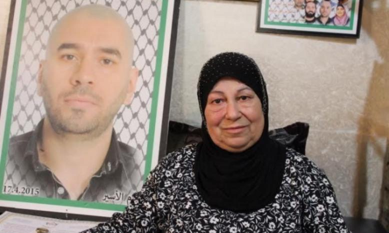 """البعنة: وفاة والدة الأسير """"ياسين بكري"""" المحكوم بأكثر من 9 مؤبدات"""