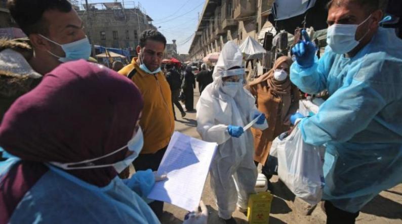 العراق يسجل حصيلة غير مسبوقة للإصابات الجديدة بكورونا