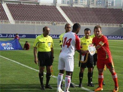 الوطني يخسر امام الامارات بثلاثية نظيفة في مباراة ودية