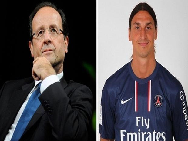 الرئيس الفرنسي يطالب بتحديد رواتب اللاعب .. والسبب ابراهيموفيتش !
